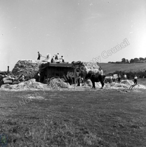 Threshing, Ingleby Cross